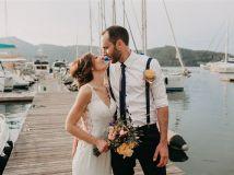 Romantic Beach Wedding in Turkey