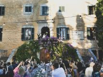 Real Destination Wedding Cost: <br>80 Guests at Villa Di Ulignano,Tuscany