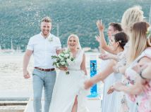 Elegant Intimate Wedding in Greece
