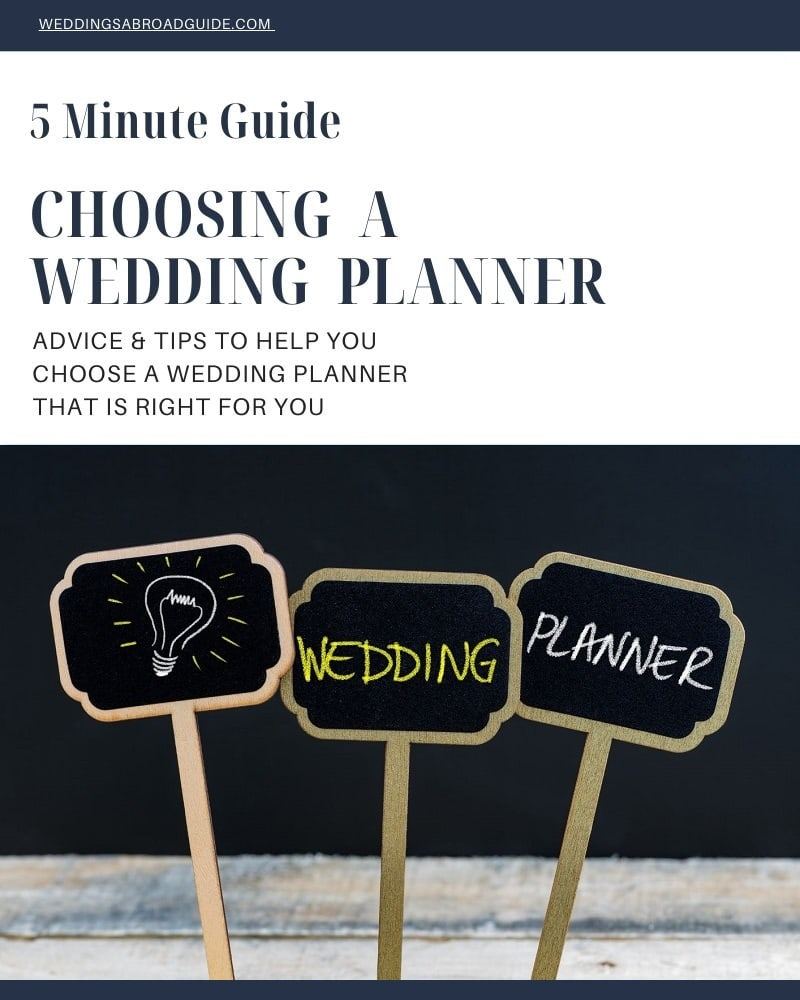 5 Minute Guide to Choosing a Destination Wedding Planner - Download