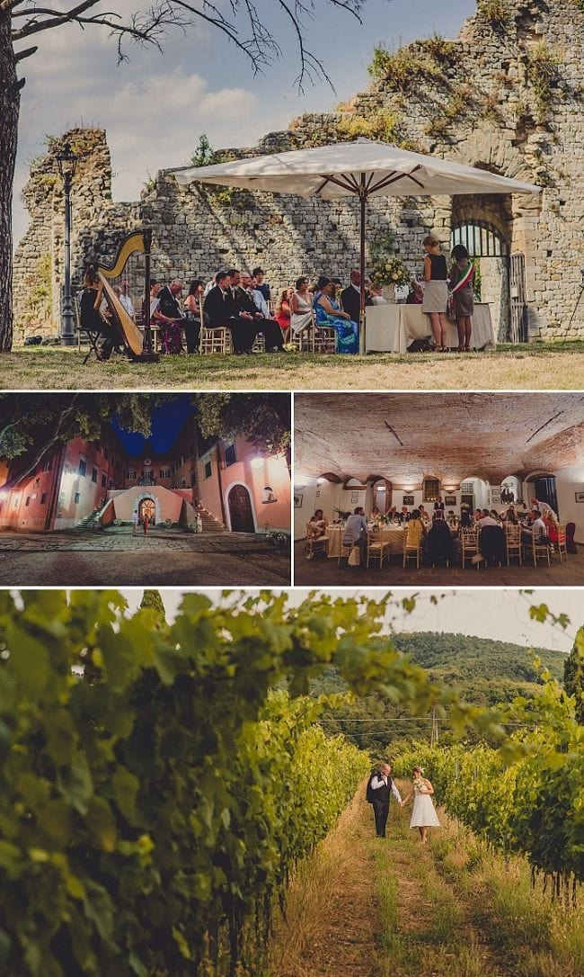 Top 10 Tips for Choosing Your Wedding Venue in Italy + the Cost of a Wedding Venue in Italy - Point 1) Location // Nigel & Rosie's Wedding photography by Livio Lacurre Planned by Accent Events