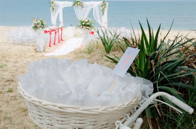 Amore Mio Events by Hotel Ambasciatori Beach Wedding in Italyaly