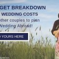 Add your Real Destination Wedding Abroad Budget Breakdown Here!