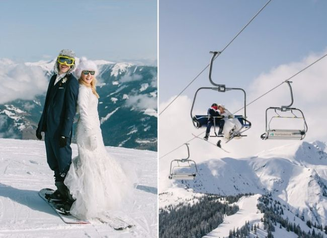 Caroline & Joe's Winter wedding in Austria // Schloss Prielau // Claire Morgan Photography