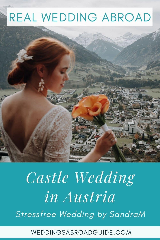 Charlotte & Oliver's Real Destination Wedding in Austria