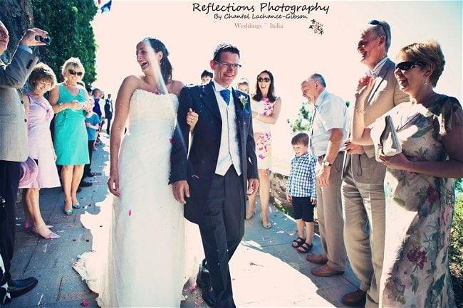 Claire & Tom's Wedding Santa Maria di Castellabate Italy // Italy Bride & Groom Weddings // Chantal Lachance-Gibson Photography