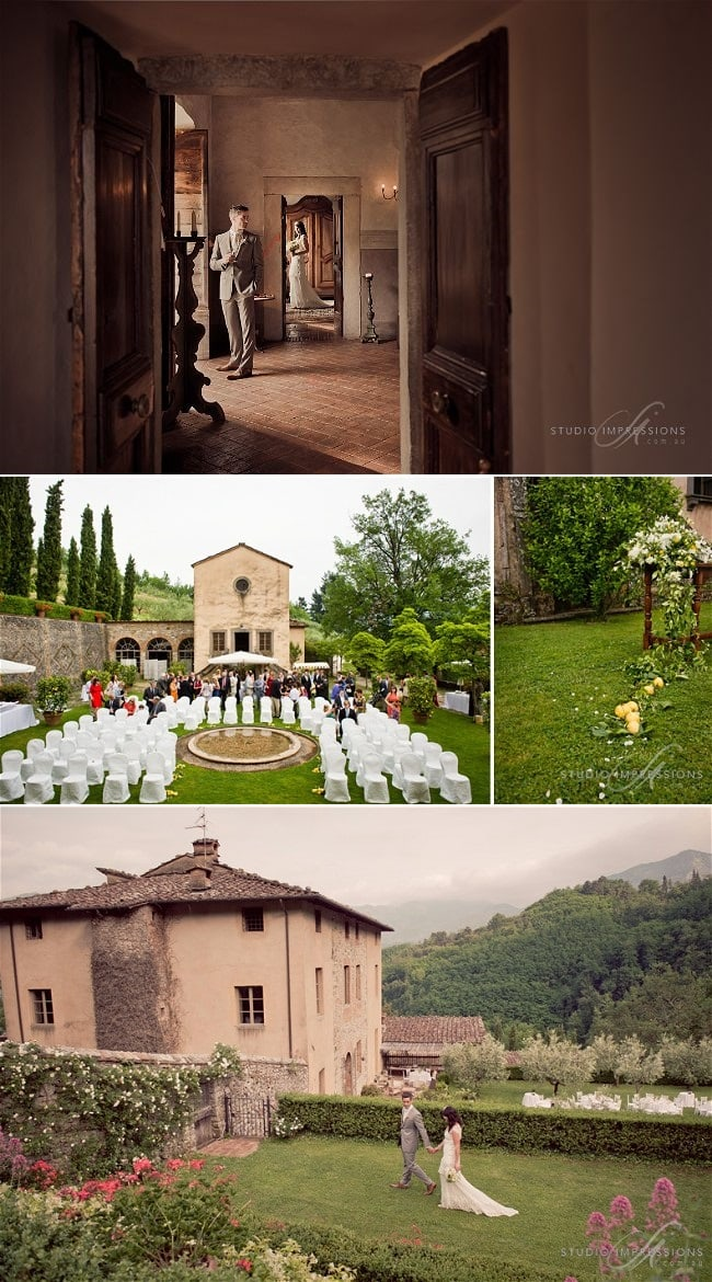 Top 10 Tips for Choosing Your Wedding Venue in Italy + the Cost of a Wedding Venue in Italy // Fiona & Richie's Wedding in Italy - Wedding Photography by Marcus Bell Studio Impressions Planned by Accent Events