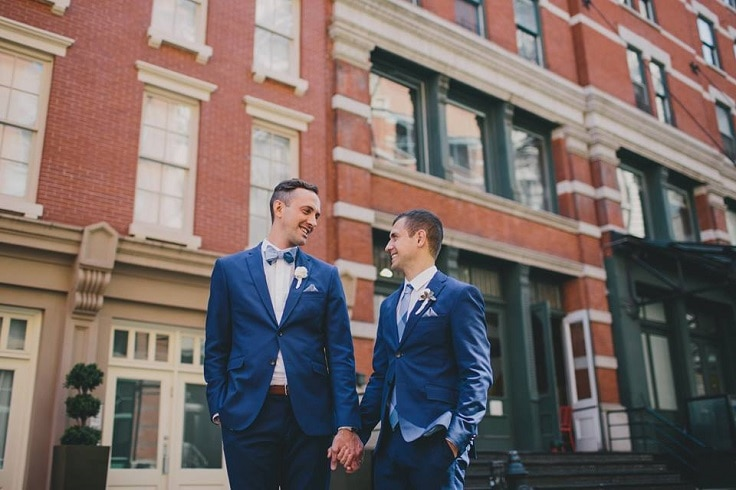 Erik & Matthews wedding in New York // Cottonwood Studios