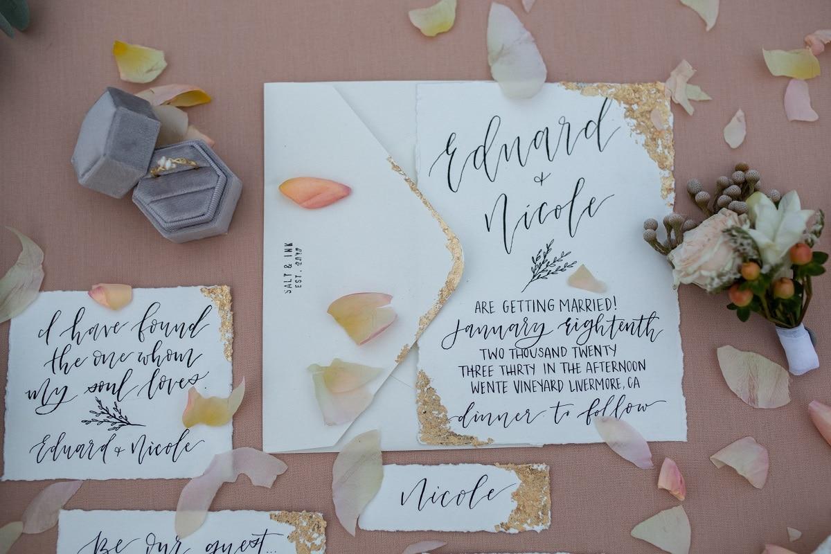 5 Wedding Invitation Ideas that you can DIY