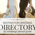 Use the destination wedding directory to find trusted & reliable weddings abroad suppliers who offer the very best services & products to help plan your overseas wedding abroad.