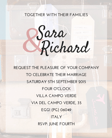 Proper Wedding Invitation Wording: How To Write A Wedding Announcement For A