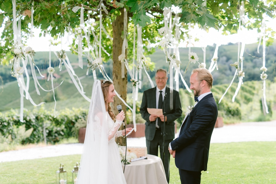 Elise & Anders Destination Wedding in La Morra Piedmont, Itlay | Extraordinary Weddings by Barbara Gourdain | Marta Guenzi Photography