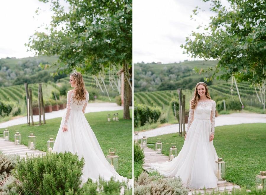Elise & Anders Destination Wedding in La Morra Piedmont, Itlay | Extraordinary Weddings by Barbara Gourdain | Marta Guenzi Photography