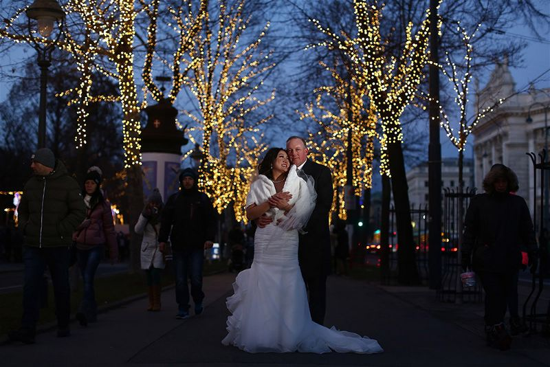 Erin & Danny's Winter Wedding in Vienna | Photograph - Horia Photography | Wedding Planner - High Emotion Weddings
