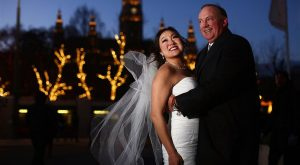 Erin & Danny's Winter Wedding in Vienna   Photograph - Horia Photography   Wedding Planner - High Emotion Weddings