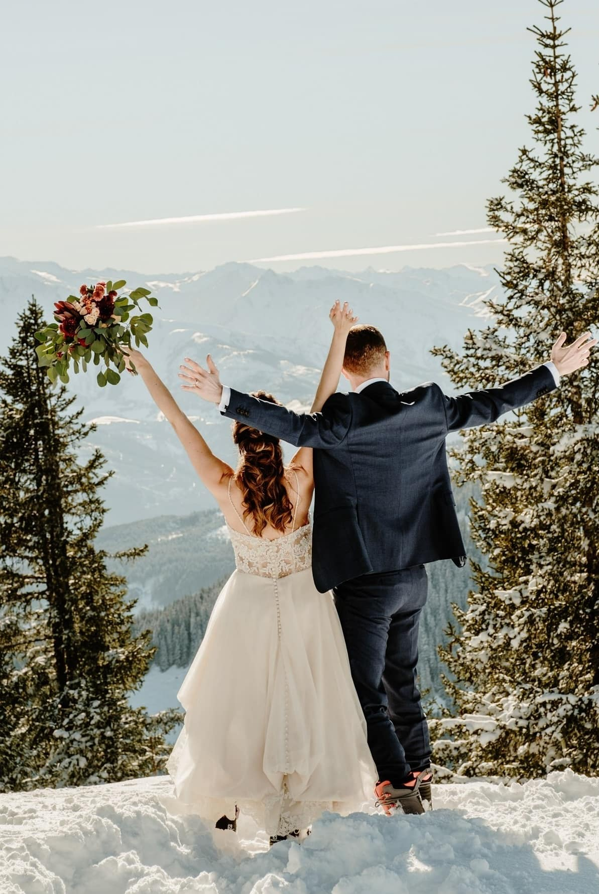 Ski Wedding Zell Am See Wild Connections Photography