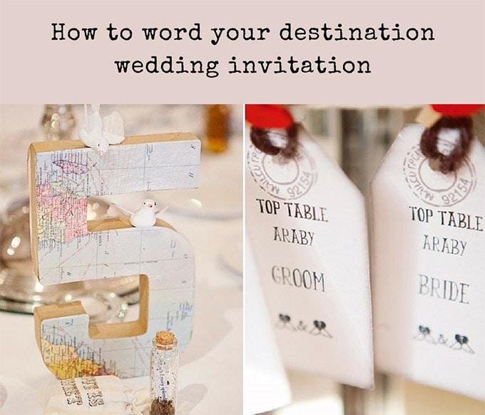 Destination wedding invitation wording weddings abroad guide filmwisefo