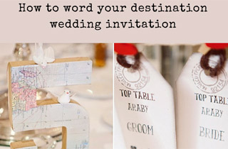 Information to Include in Your Invitation & How to Word it