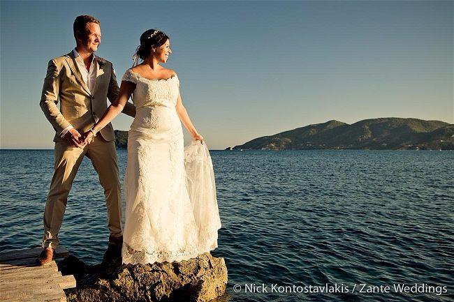 Zante Weddings by Tsilvil Travel Wedding Planners Greece