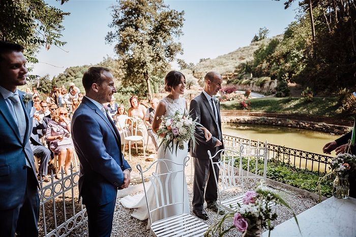 Joanna & Ciro's Real Wedding in Italy Photography - Tuscanywed - Matteo Innocenti Venue Valle Di Badia Wedding Hamlet in Tuscany