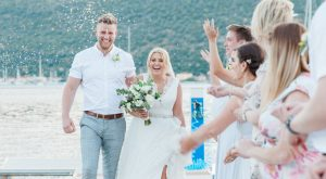 Lauren & Mark's Greek Wedding Abroad | planned by Lefkas Wedding | Photography by Maxeen Kim Photography