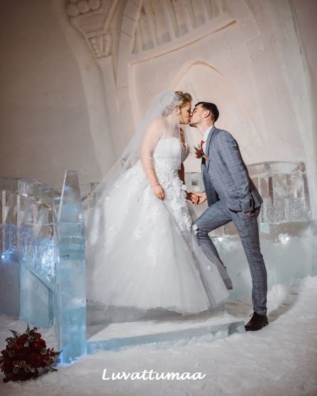 Unique Wedding Venue Lapland - Luvattumaa Levi Ice Castle - member of the Destination Wedding Directory by Weddings Abroad Guide