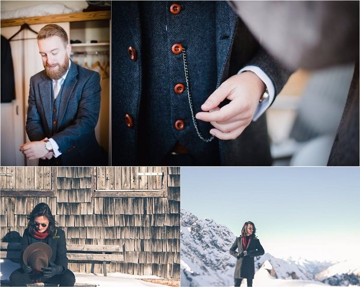What to wear for a Winter Wedding - Insider Tips & Advice from Wild Connections Photography