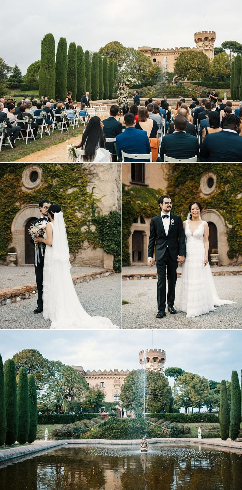 Cost of a Wedding in Spain a Guideline by Barcelona Brides -. Luxury Wedding Venue Castell de Sant Marcel Wedding - Melody & Alberto's Wedding Photography by And I Love You So