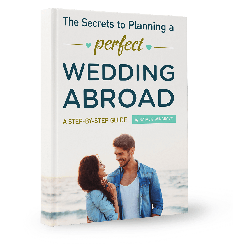 Planning a Perfect Wedding Abroad Book / Your Step by Step Guide to Planning a Successful Destination Wedding Abroad / Weddings Abroad EBook