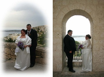Real Weddings In Malta Rachael And Philip Mellieha