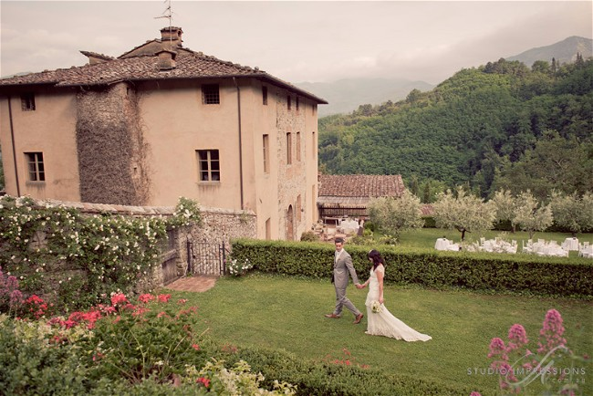 Fiona And Richie's Wedding In Tuscany