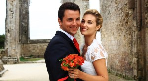 Stephanie & Benoit's wedding in France // Et Voila Weddings // Astrid Templier