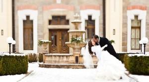 Tara & Ryan Winter Wedding // White Prague Wedding Agency // Rowell Photography