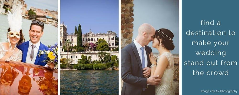 Unique Wedding Destinations Abroad // AV Photography