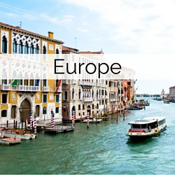 Wedding Abroad Destinations in Europe