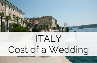 Cost of a Wedding in Italy