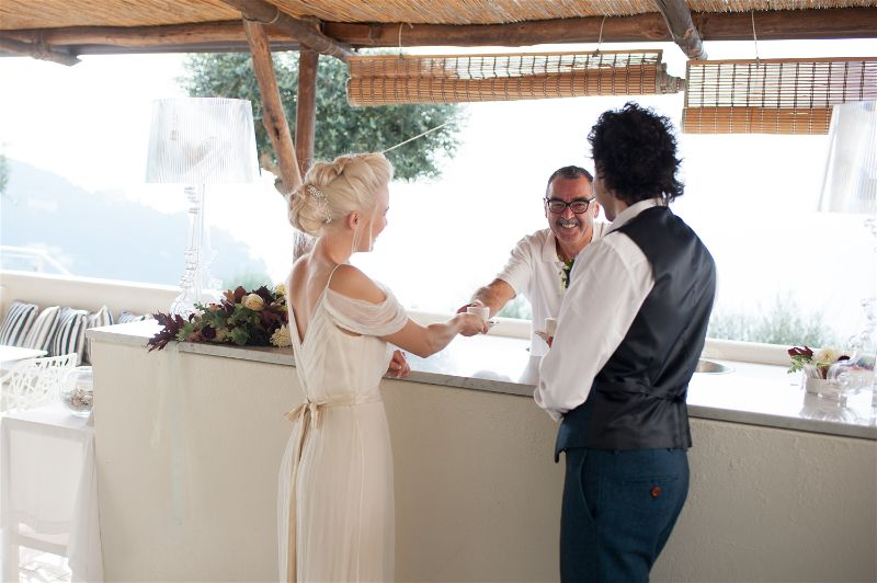 Art Hotel Villa Fiorella Massa Lubrense Wedding Venue | Styled Shoot planned by Accent Events, Photography Mrs Juston Photography