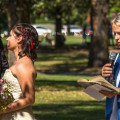 Destination wedding Australia | Jess &CaylansMelbourne Garden Wedding | weddingsabroadguide.com