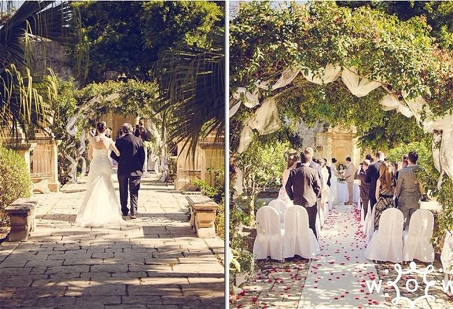 Villa Bologna Secret Garden Wedding Malta Civil Wedding Venue - Malta Destination Wedding Guide | Wed Our Way Wedding Planner Malta