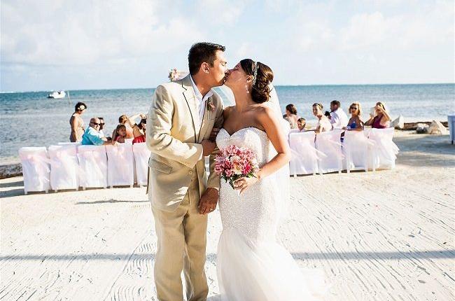Beach Weddings // Belize Weddings by Sandy Point Resotrs