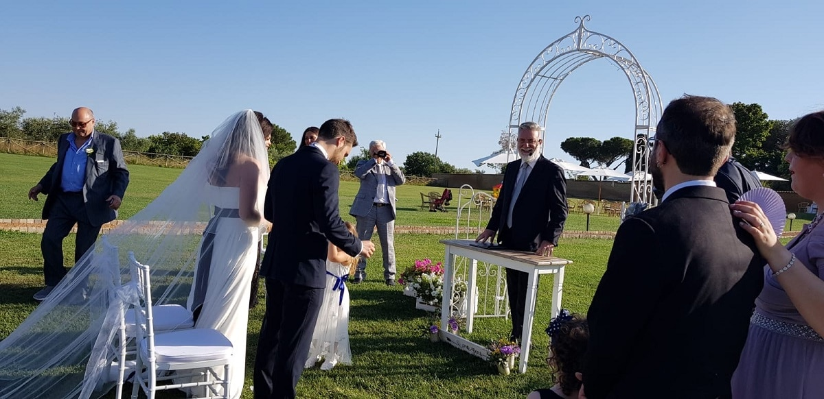 Celebrans Giuliano Bonelli Wedding Celebrant Rome - Italy - Worldwide, Valued Member of Weddings Abroad Guide Supplier Directory