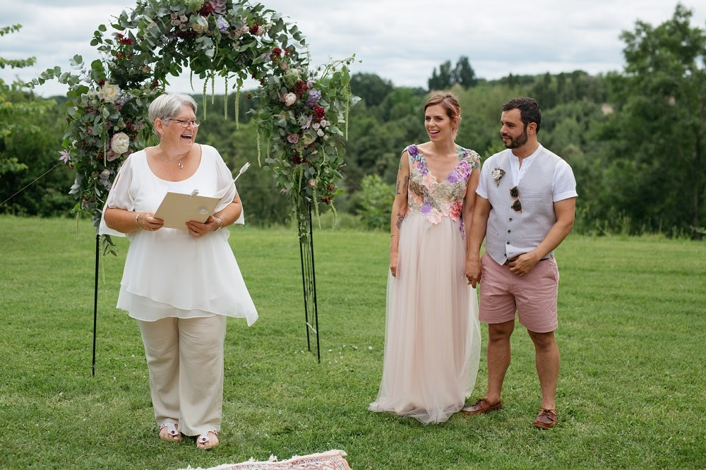 Ceremonies in France Wedding Celebrant Gaynor McKernan Review Hattie & Michael
