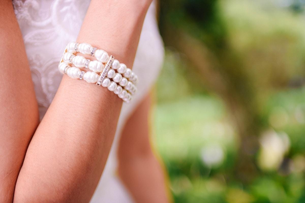 Pearl Bracelet Wedding Jewelry