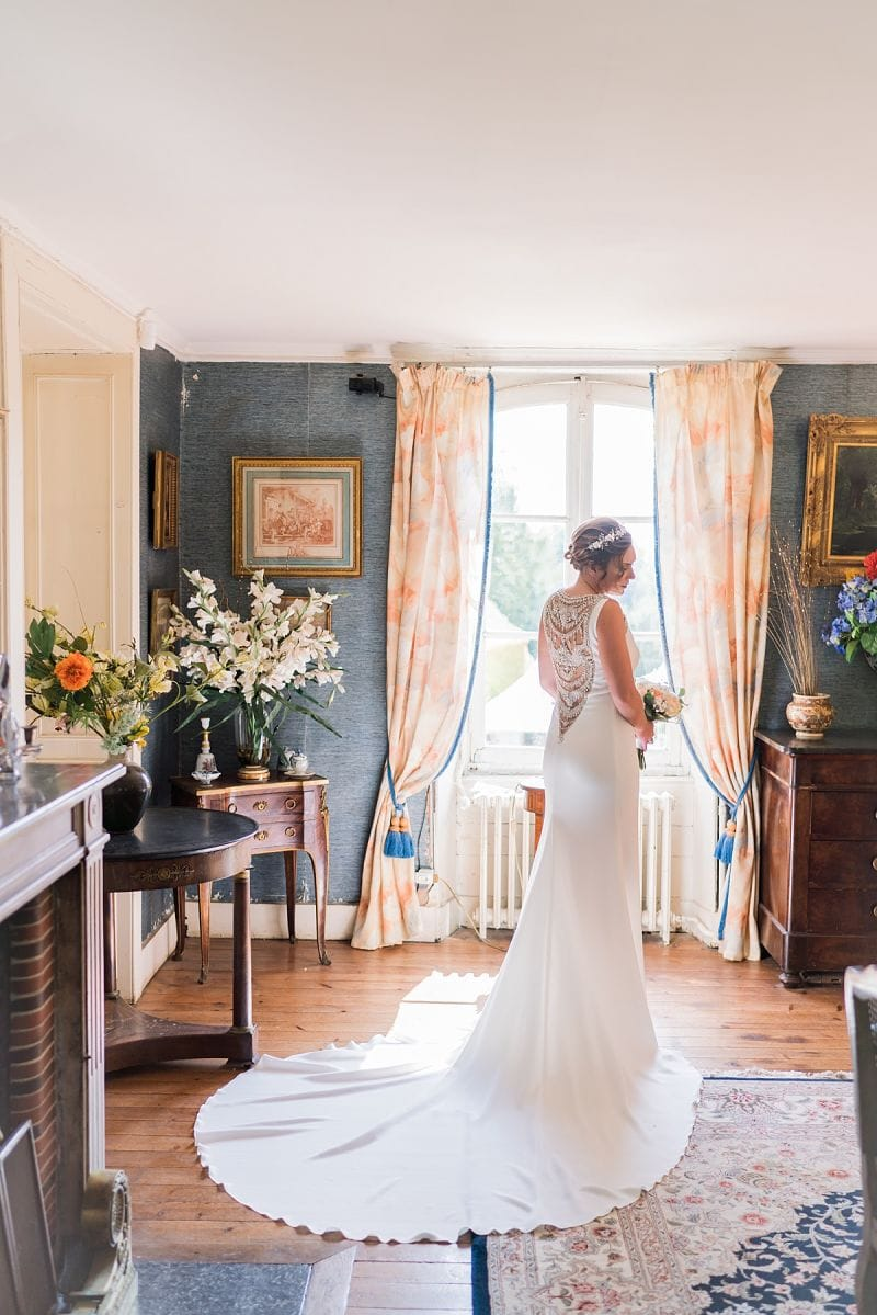 Jess & Jamie's Chateau Wedding in Normandy planned by Noces du Monde - Pierre Torset_Photography - Chateau de Miserai