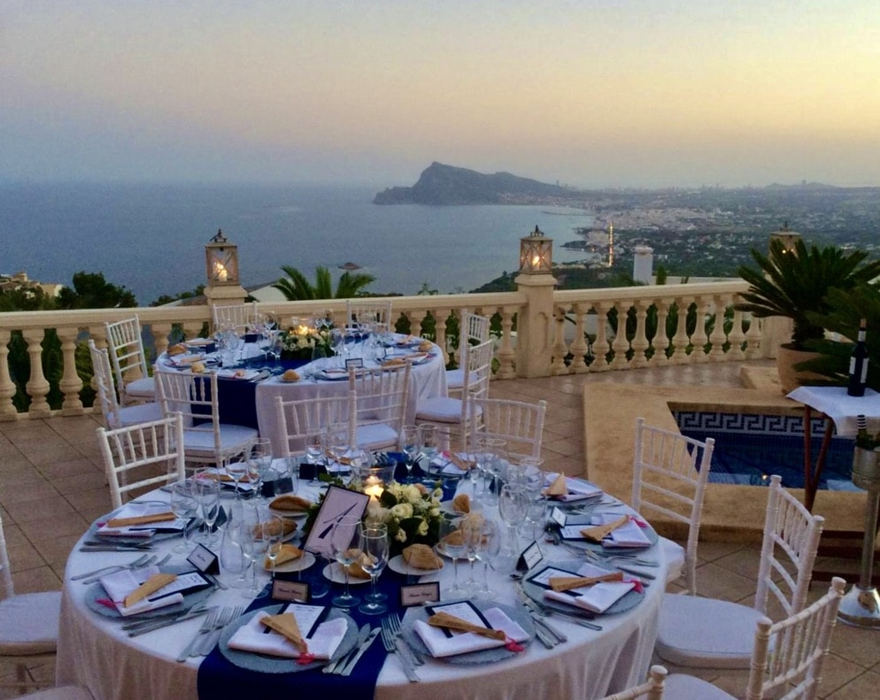 Costa Blanca Events | Wedding & Events in Spain | Valued Member of Weddings Abroad Guide Supplier Directory