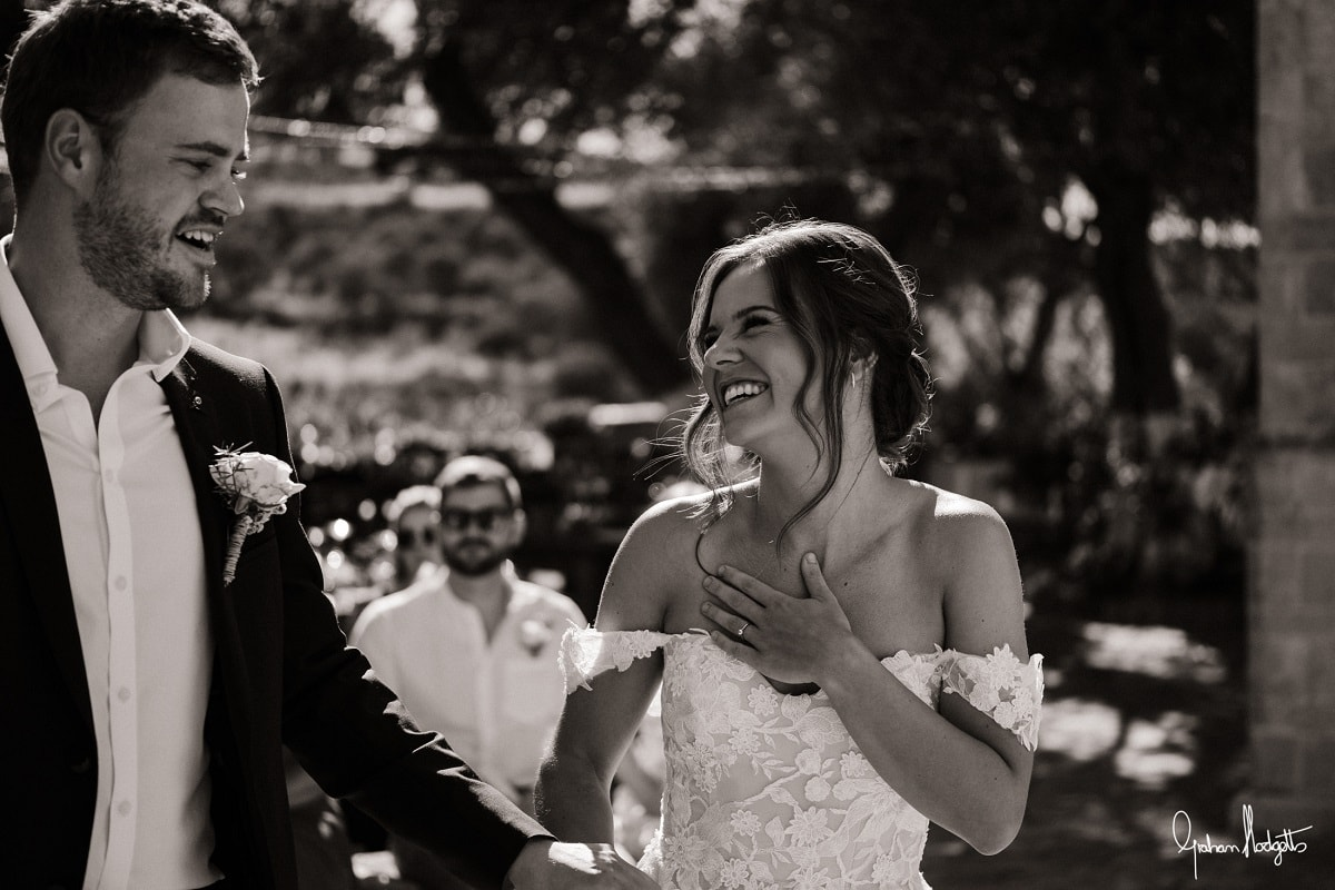 Daisy & Peter's Real Wedding in Crete in COVID-19 - Graham Hodgetts Photography