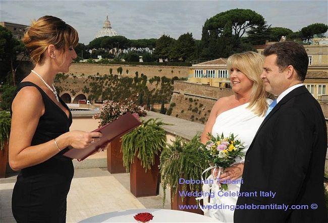 Daborah Taliani Wedding Celebrant & Translation Service Italy
