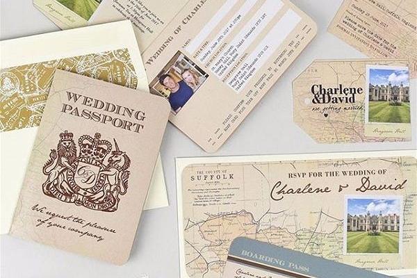 Wedding Abroad Invitations Practical
