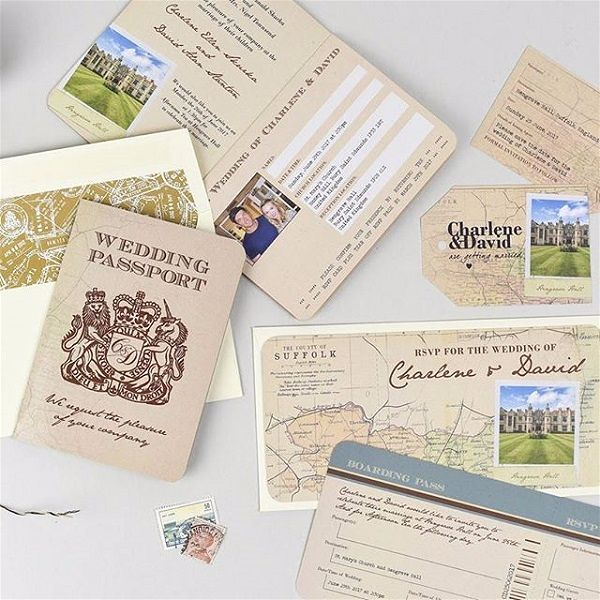Best Wedding Invitation Sites: Destination Wedding Invitations