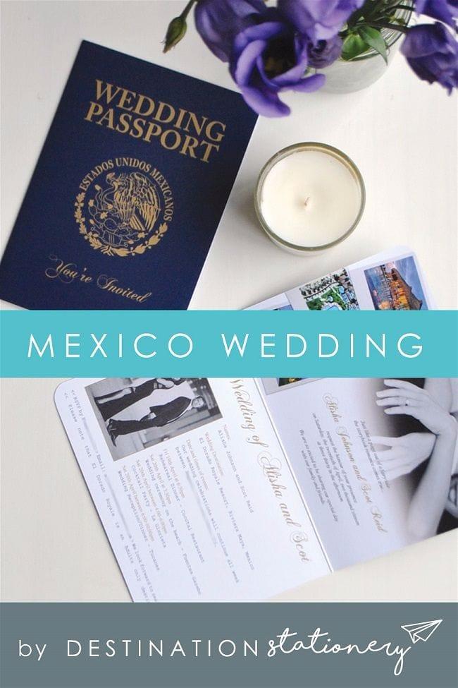 Destination Wedding Invitations - Design Your Own Unique Stationery